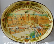 Anheuser-Busch Brewing Association Brewery Beer Tray