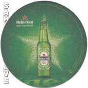 Heineken Open Your World Beer Coaster