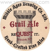 Grail Ale Beer Coaster