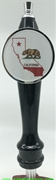 California State Flag Tap Handle