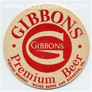 Gibbons Premium Beer Coaster