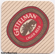 Gettelman Lager Beer Coaster