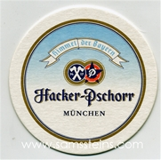 Hacker-Pschorr Beer Coaster