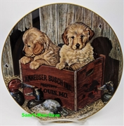 Budweiser Mans Best Friend Buddies Plate
