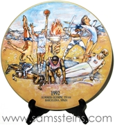 Budweiser 1992 US Summer Olympic Plate