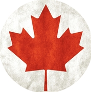 Canadian Maple Leaf Tap Handle