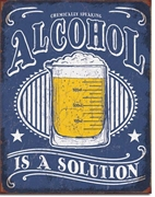 Alcohol Solution Tin