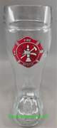 Fire Fighter One Liter Glass Boot