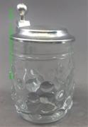 Dimple Glass Mini Beer Stein