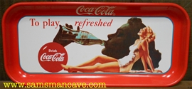 Coca Cola Play Refreshed Tray