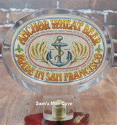 Anchor Wheat Beer Tap Handle