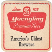 Yuengling America's Oldest Beer Coaster