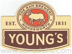 Youngs Beer Coaster