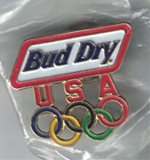 Bud Dry Olympic Pin