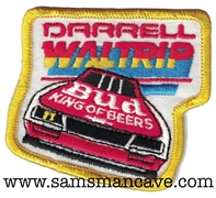 Budweiser Darrell Waltrip Beer Patch
