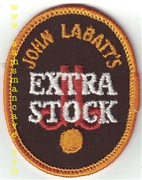John Labatt's Extra Stock Beer Patch