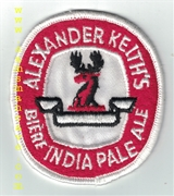 Alexander Keith's India Pale Ale Patch