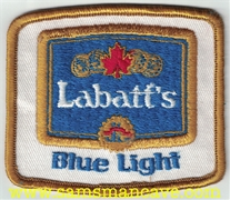 Labatt's Blue Light Beer Patch