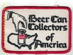 Beer Can Collectors Of America Patch