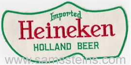 Heineken Shoe Large Print Beer Patch