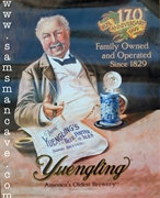 Yuengling 170th Anniversary Beer Poster