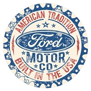 Ford Built In the USA Tin Sign