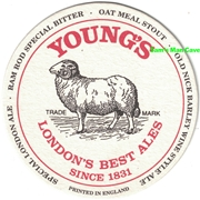 Young's Beer Coaster