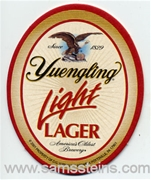 Yuengling Light Lager Beer Coaster