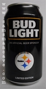 Bud Light 2016 Pittsburgh Steelers Kickoff 12 oz Can