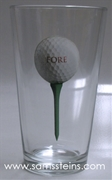 Fore Golf Pint Glass