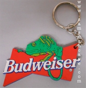 Budweiser Louie the Lizard Keychain