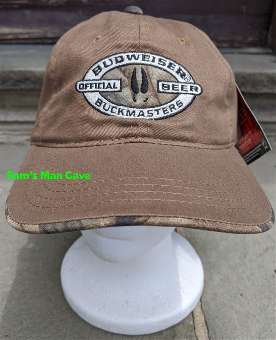 Budweiser Buckmasters Realtree Hat